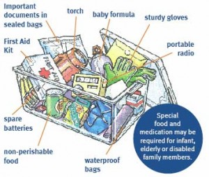 home information-emergency kit-home improvement ideas