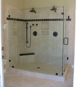 installing a shower