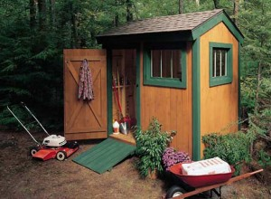 home information-build a shed-home improvement ideas