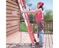 home information-ladders safely-home improvement ideas