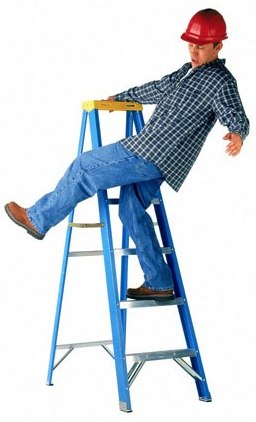 How to use ladders safely home information for Ladder safety tips