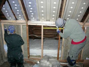 home information-attic insulation-home improvement ideas