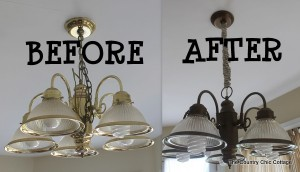 home information-updating light fixtures-home improvement ideas