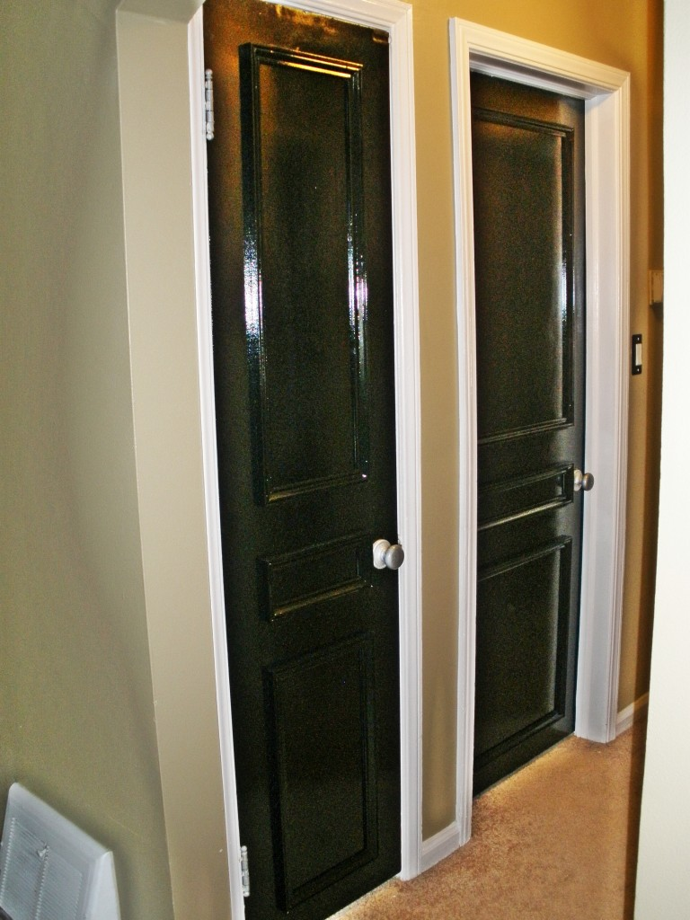 Interior door transformation for Cost to paint interior doors and trim