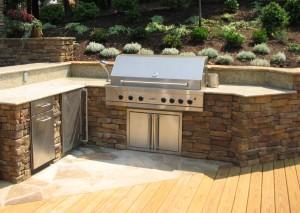 home information-outdoor kitchen-home improvement ideas