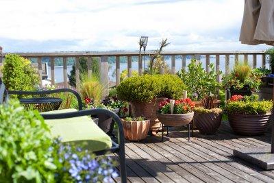Garden Design Garden Design with Ideas For Deck With Furniture
