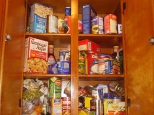 home information-food storage