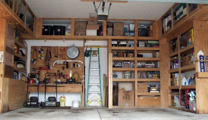 home improvement ideas-garage storage
