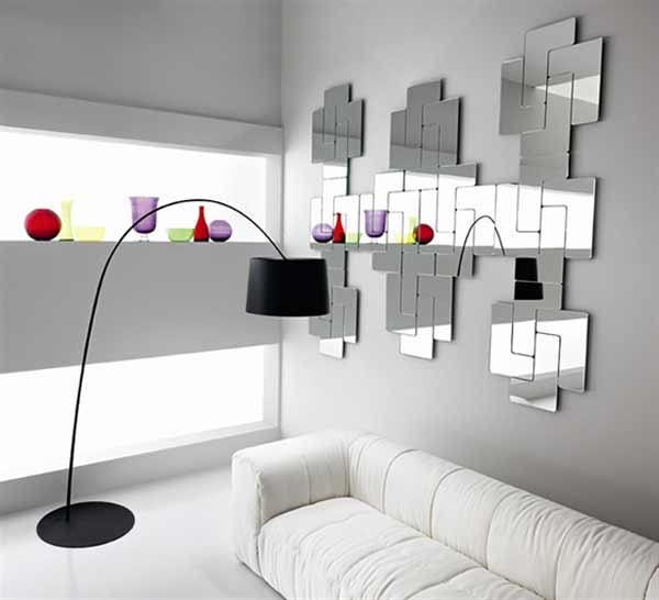 home improvement ideas-decorating with mirrors