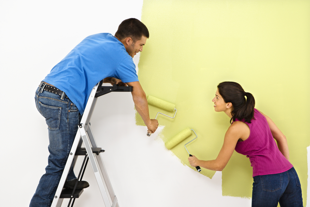 home improvement ideas-painting-decorating