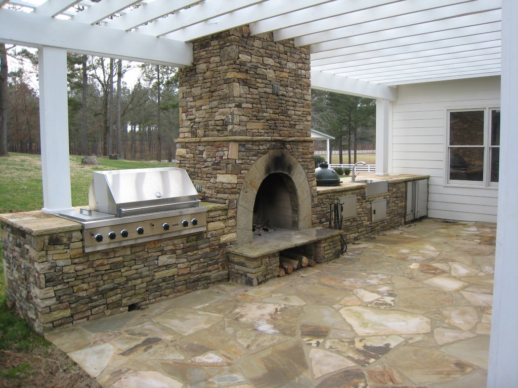 home and garden-outdoor fireplaces