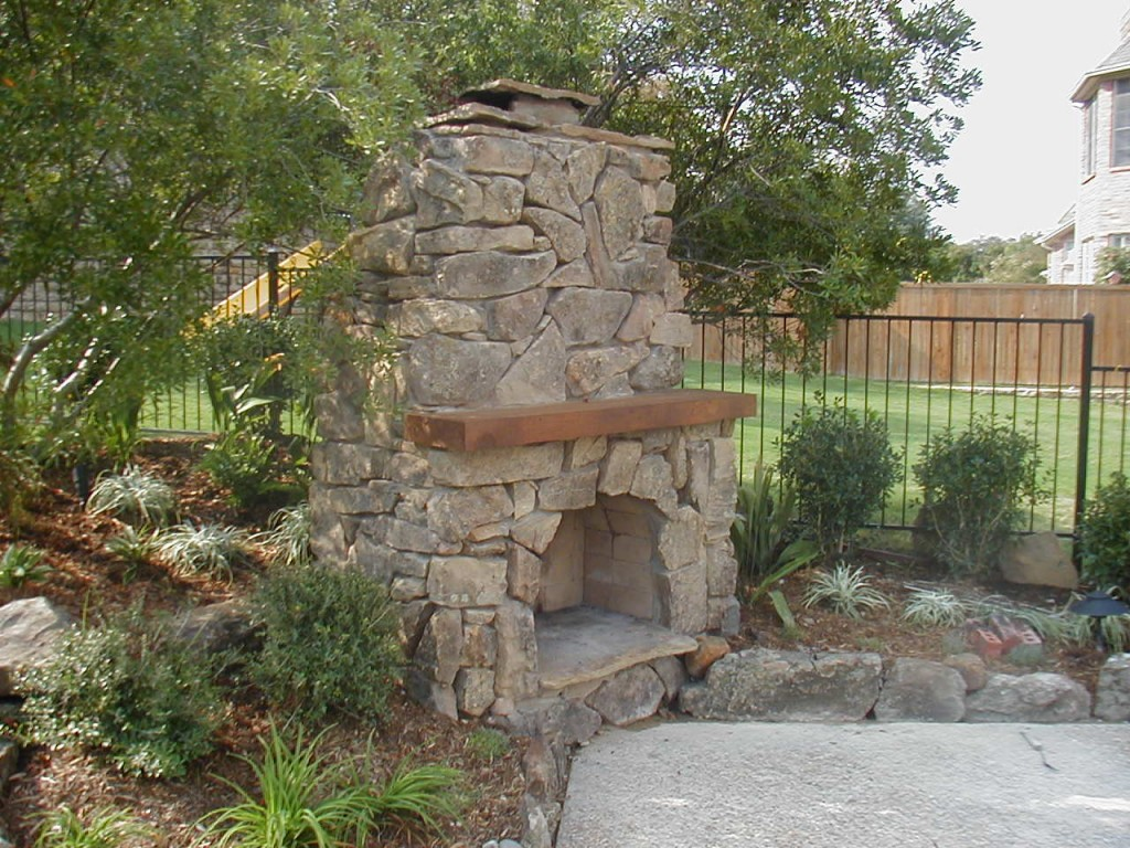 ... Home Improvement Ideas Outdoor Fireplaces