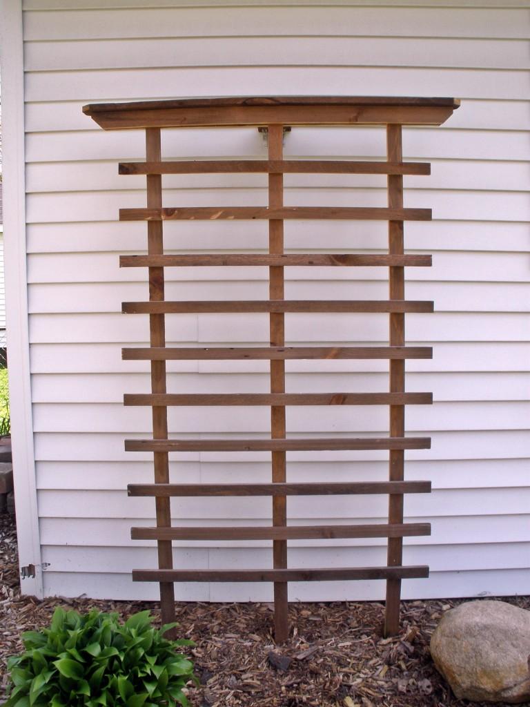 backyard trellis art project home information guru com