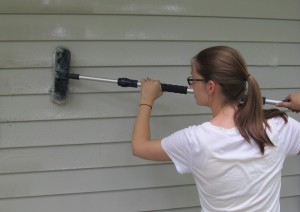cleaning your siding
