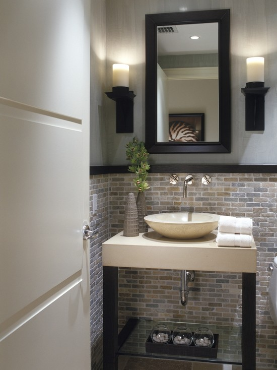Decorating Ideas For Powder Rooms modern powder room modern powder room. below are 25 pictures of