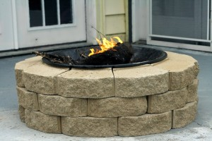 fire pit for backyards