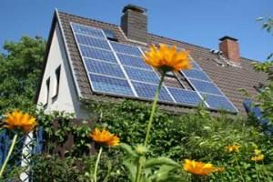 home solar panel