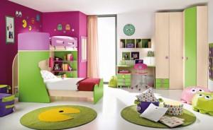 bright bedroom colour