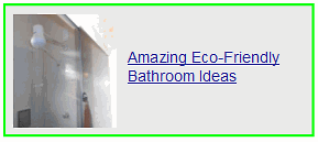 amazing eco friendly bathroom ideas