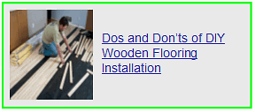 dos & donts of diy wooden flooring installation