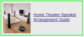 home theater speaker arrangement guide
