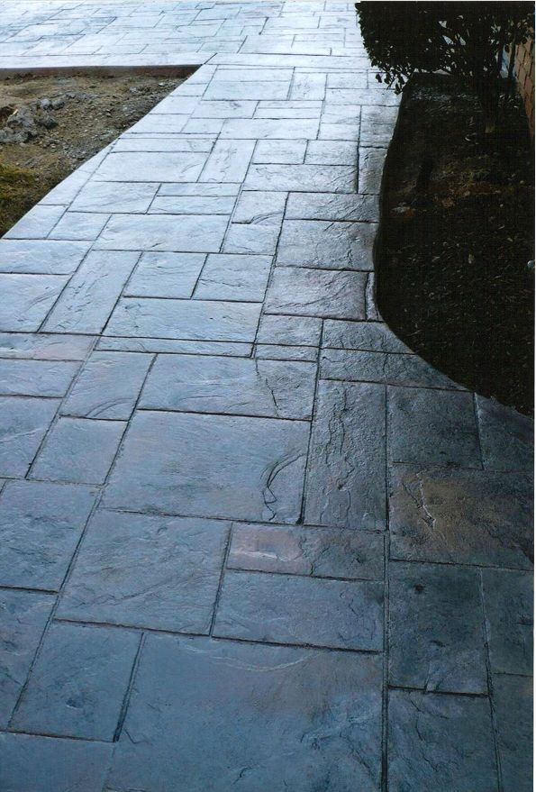 stamped concrete in your landscape